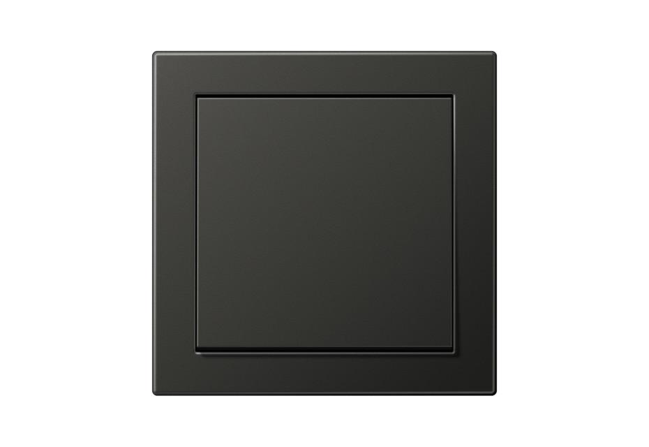 LS Design Schalter in anthrazit