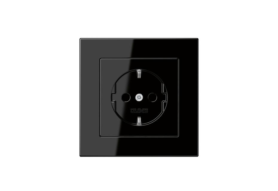 A 550 SCHUKO-Socket black
