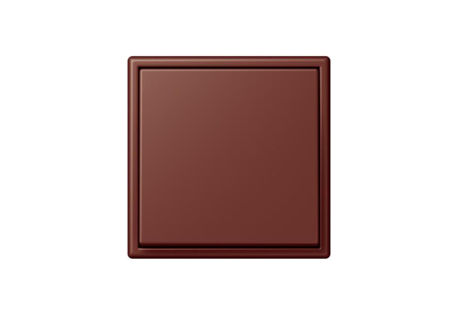 LS 990 in Les Couleurs® Le Corbusier Schalter in Die tiefe gebrannte Sienaerde
