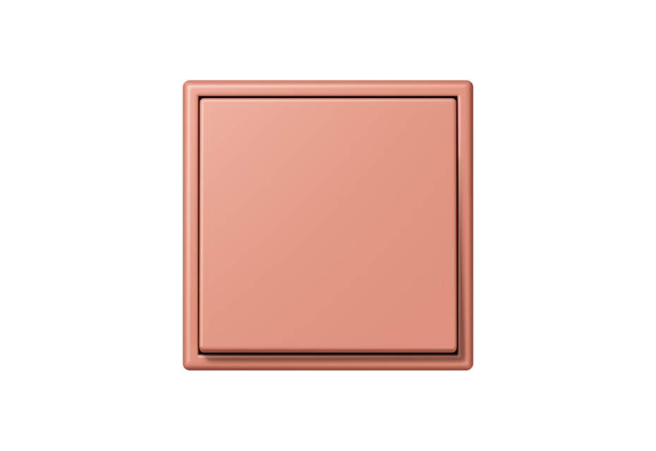 LS 990 in Les Couleurs® Le Corbusier Schalter in Das mittlere Terracotta