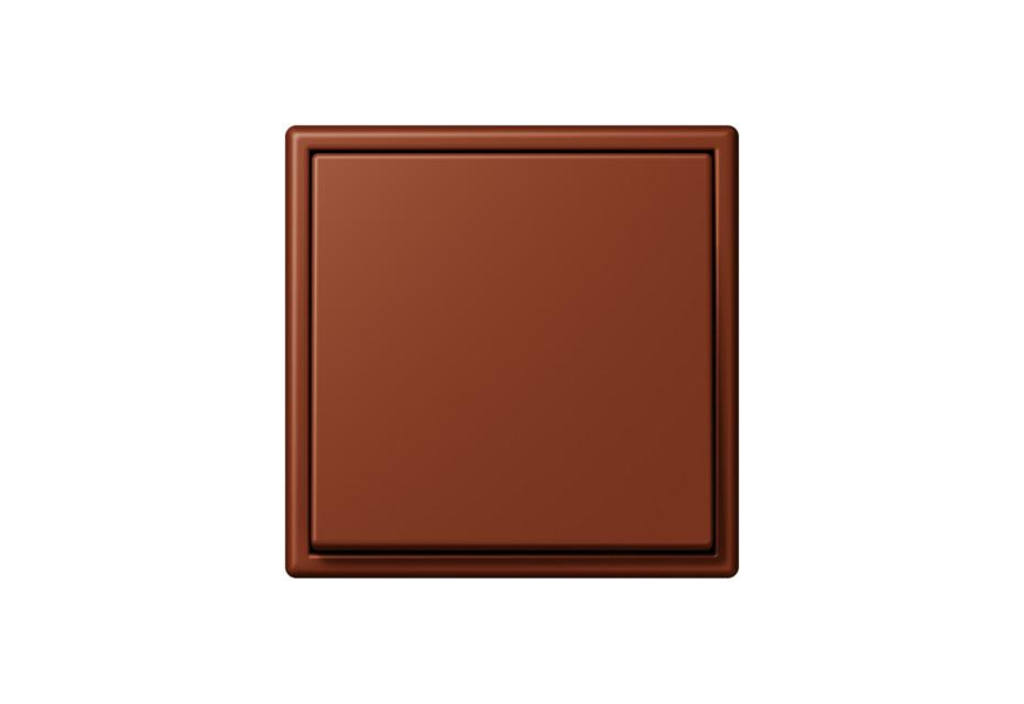 LS 990 in Les Couleurs® Le Corbusier Schalter in Die tiefbraune sienaerde