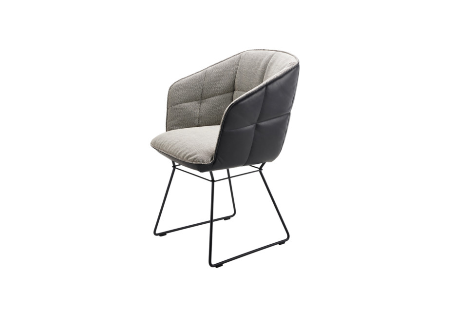 Marla armchair high with wire frame