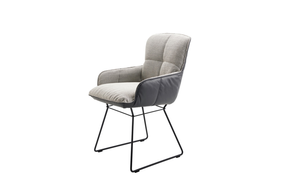 Marla Armchair Low mit Drahtgestell