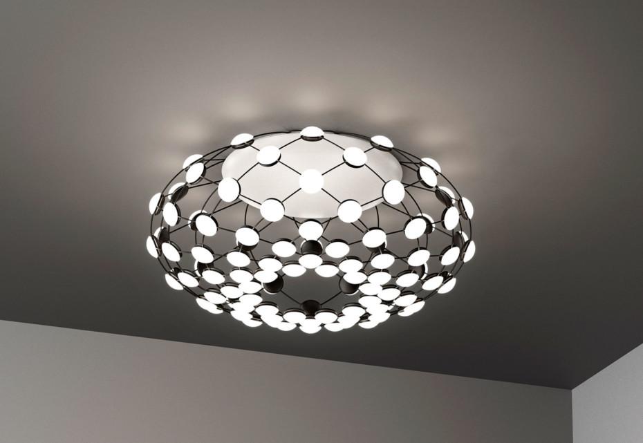Mesh ceiling lamp