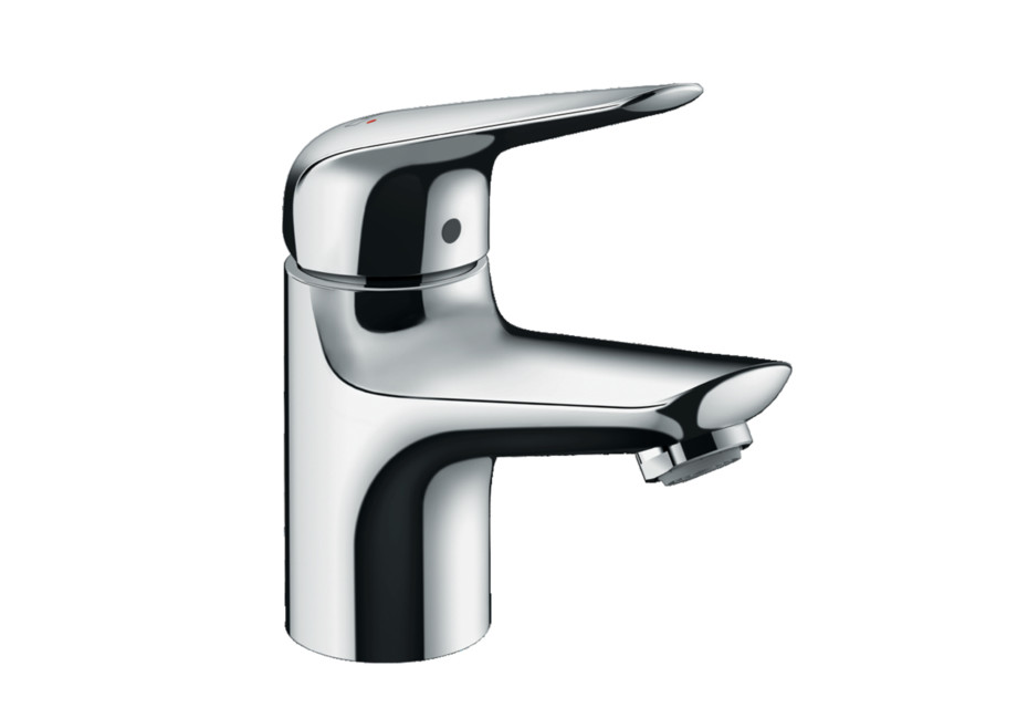Novus single-lever basin mixer 70 with pop-up waste