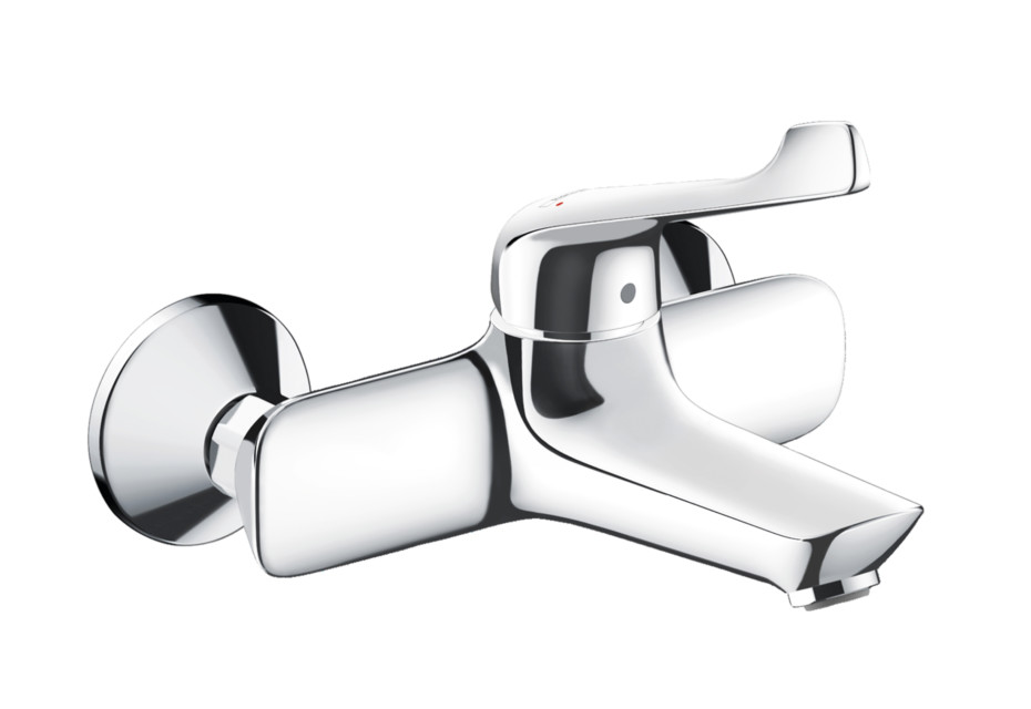 Novus Single lever basin mixer for exposed installation with extra long handle