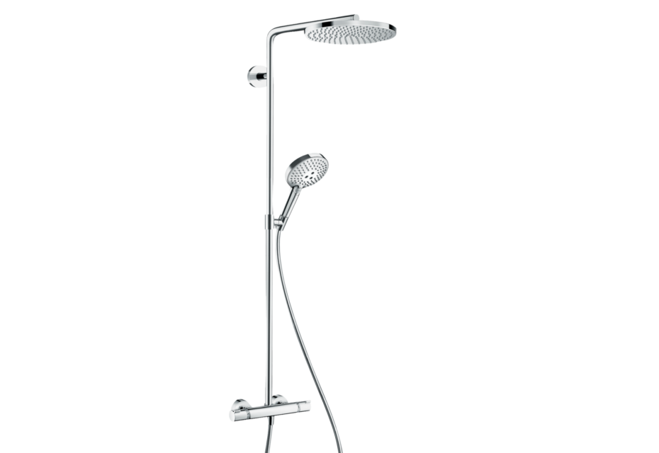 Raindance Select S showerpipe 240 1jet P with thermostat