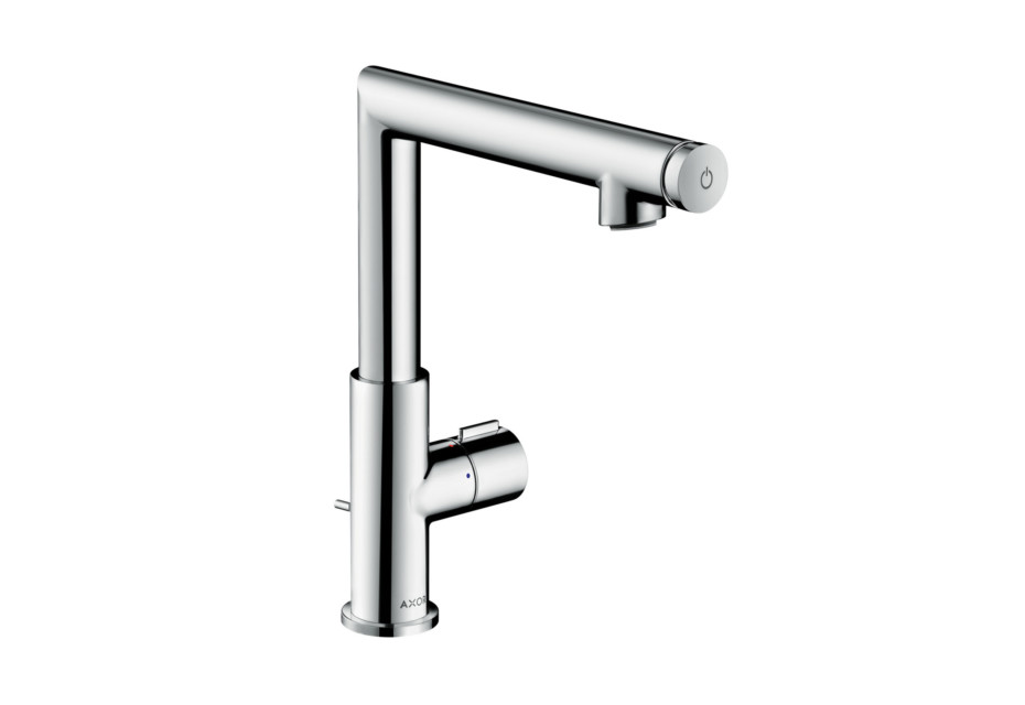 Axor Uno Select basin mixer 220 with pop-up waste set