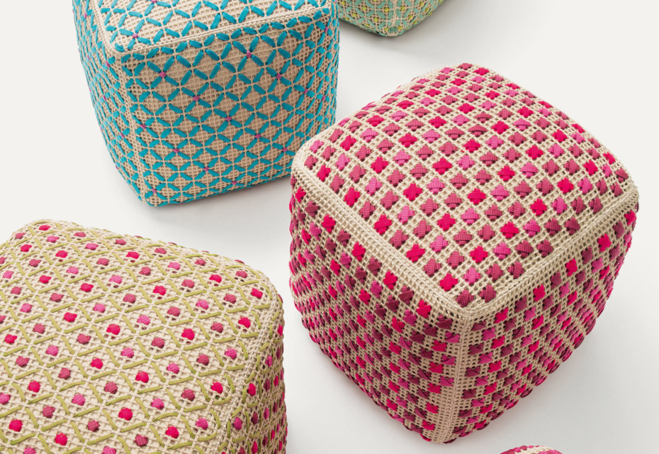 Spezie Outdoor Pouf By Paola Lenti STYLEPARK Inspiration Outdoor Pouf Canada