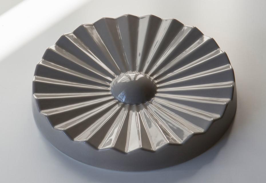 Ziggy Stardust ashtray round