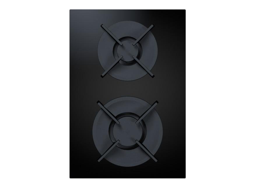 BORA Professional 2.0 Gas-Glaskeramik-Kochfeld mit 2 Kochzonen