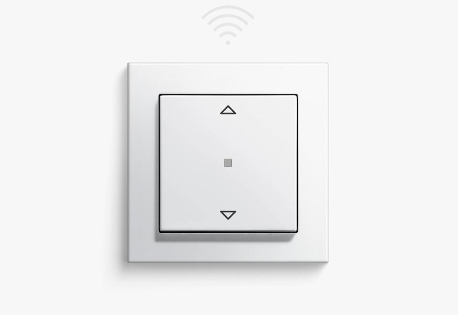eNet radio switching/dimming top unit