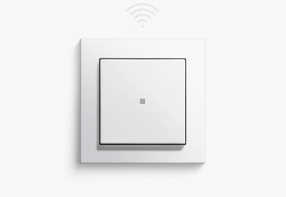 eNet radio blind control button