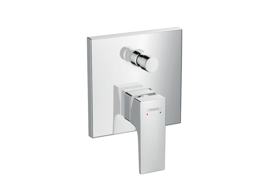 Metropol Single Lever Bath Mixer, for concealed installation by ...