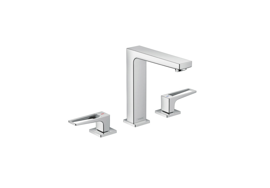 Metropol 3-hole washbasin 160 lever