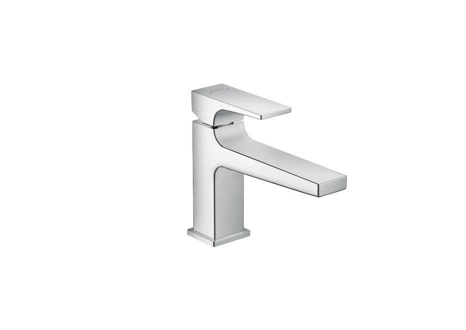 Metropol single lever washbasin mixer 100 long