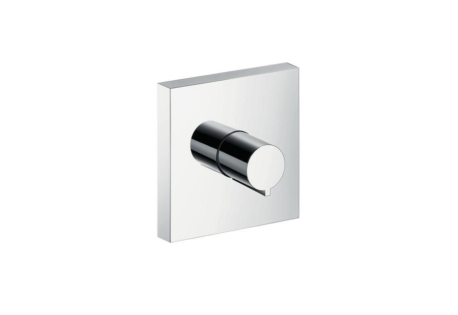Axor ShowerCollection Abstellventil 120/120 Square, Unterputz