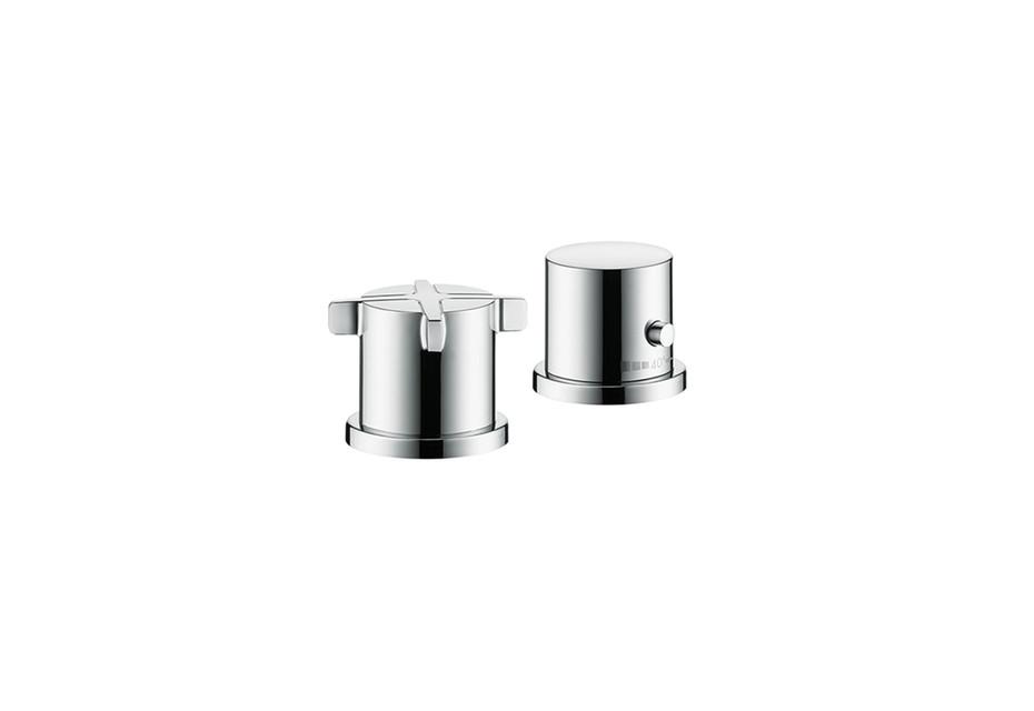 Axor Citterio E 2-Loch Wannenrandarmatur mit Thermostat