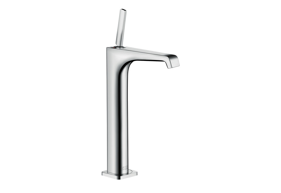 Axor Citterio E single lever basin mixer 250 without pull-rod for wash bowls