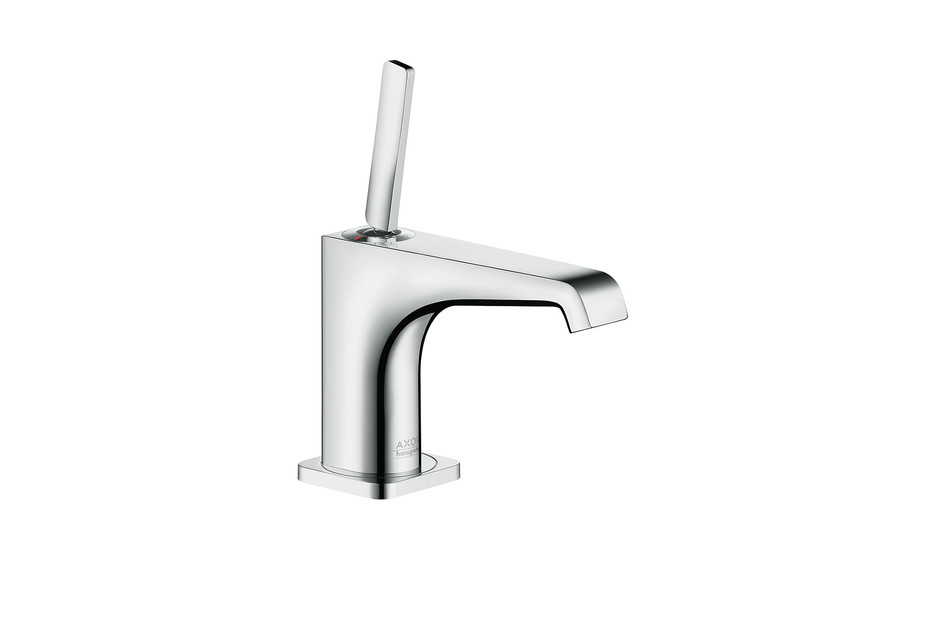 Axor Citterio E single lever basin mixer 90 without pull-rod for hand wash basins