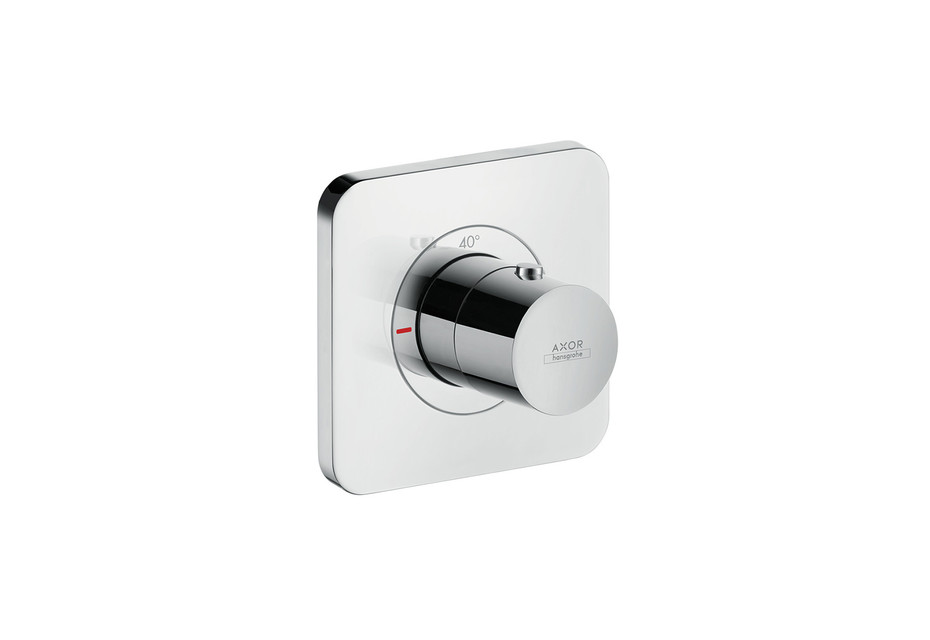 Axor Citterio E Thermostatic module 120/120 for concealed installation
