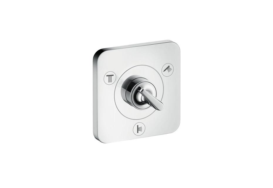 Axor Citterio E Trio/ Quattro shut-off/ diverter valve 120/120 for concealed installation