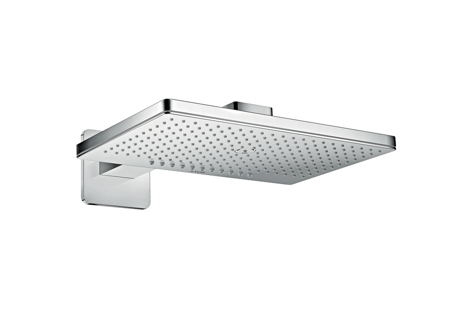 AXOR overhead shower 460 / 300 2jet with shower arm and softcube escutcheons