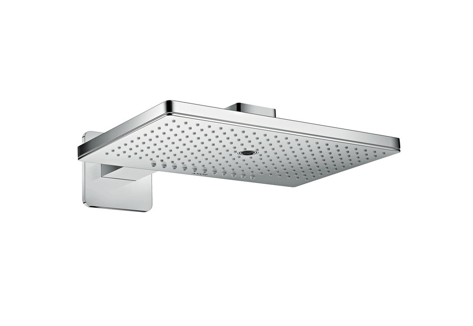 Axor overhead shower 460 / 300 3jet with shower arm and softcube escutcheons