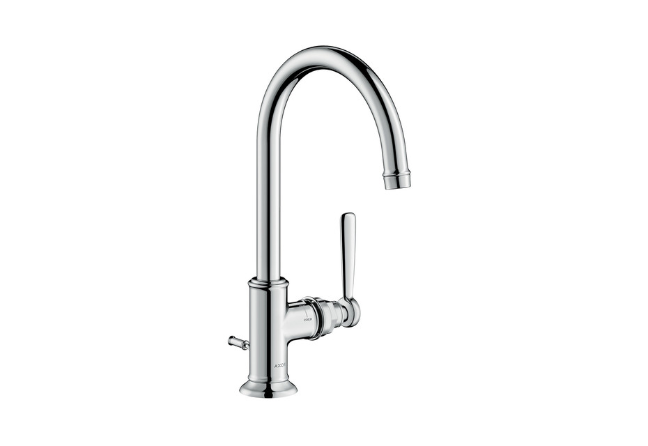 Axor Montreux single lever basin mixer 210 with pop-up waste set