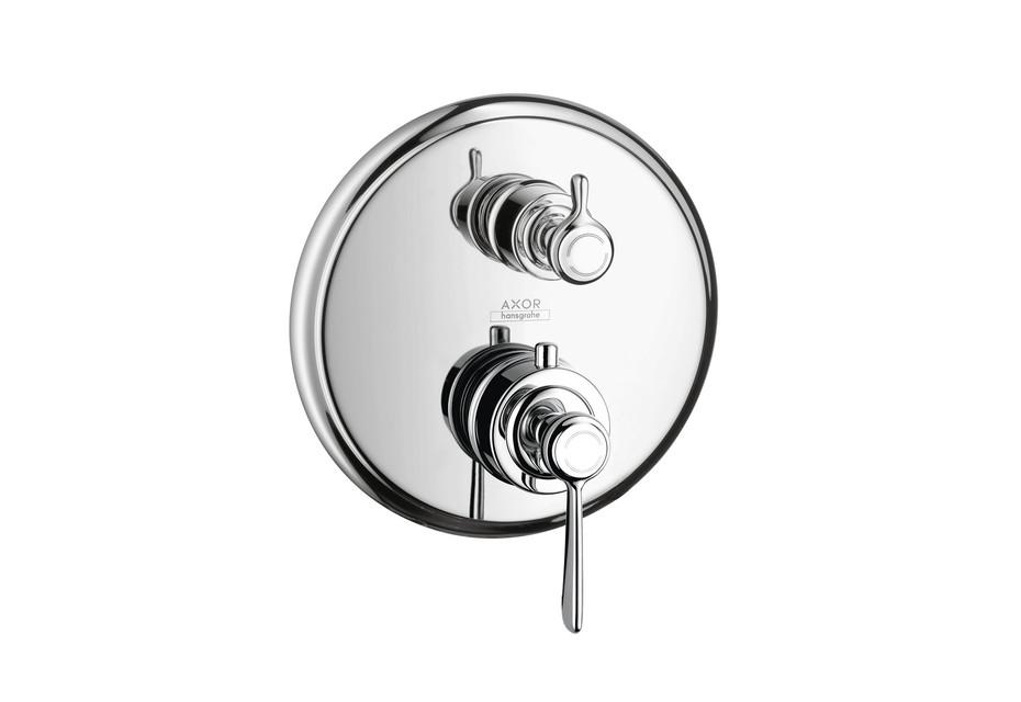 Axor Montreux Thermostat Unterputz mit Ab- und Umstellventil und Hebelgriff