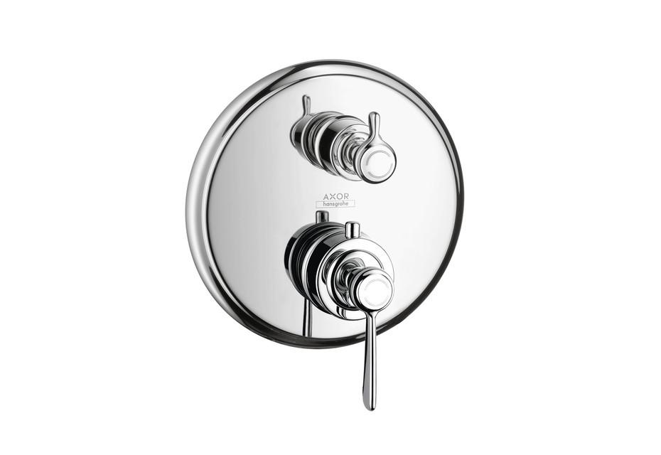 Axor Montreux Thermostat Unterputz mit Abstellventil mit Hebelgriff