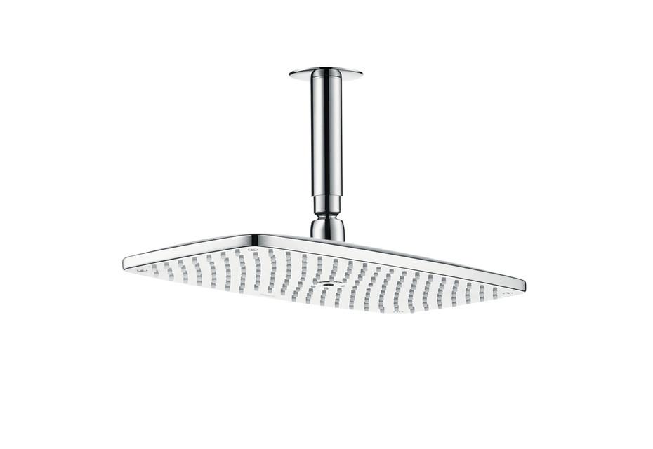 Axor Raindance E 360 Air 1jet overhead shower with ceiling connector 100 mm