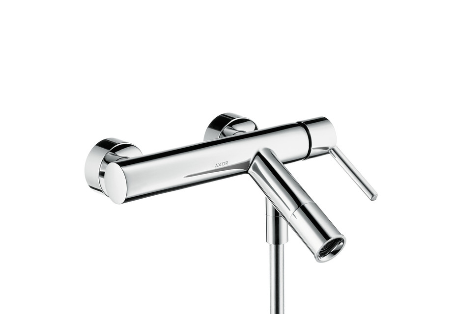 Axor Starck Single lever bath mixer for exposed installation