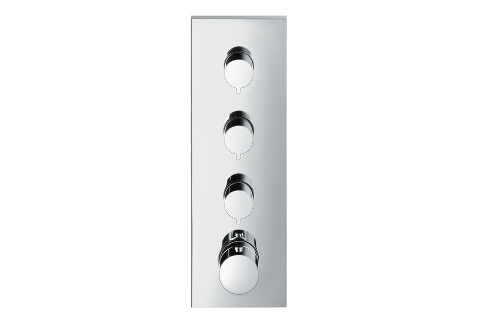 Axor ShowerCollection Thermostatic module 360/120 Square for concealed installation