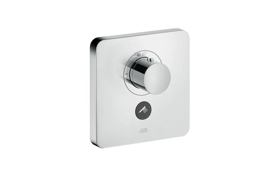 Axor Thermostat Highflow Softcube, für 1 Verbraucher und einen zusätzlichen Abgang, Unterputz