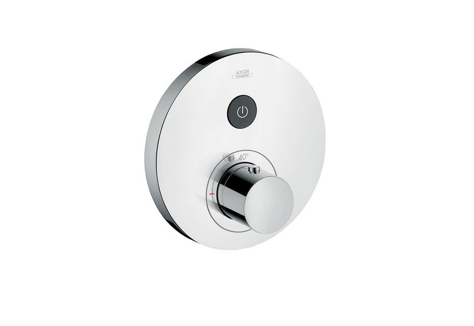 Axor thermostatic mixer Round for 1 outlet for concealed installation