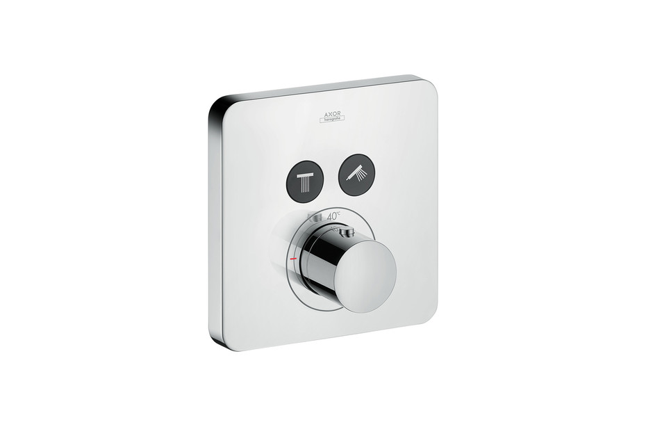 Axor Thermostat Softcube für 2 Verbraucher Unterputz