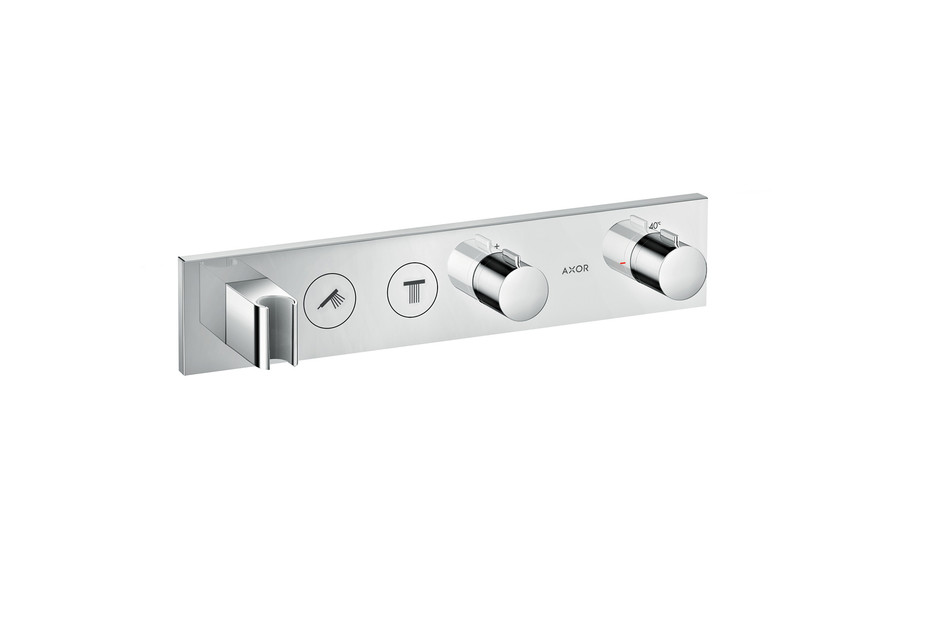AXOR Thermostatic module Select 460/90 for 2 functions for concealed installation