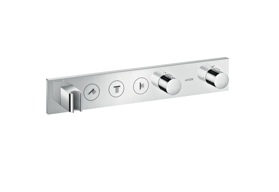 Axor Thermostatic module Select 530/90 for 3 functions for concealed installation