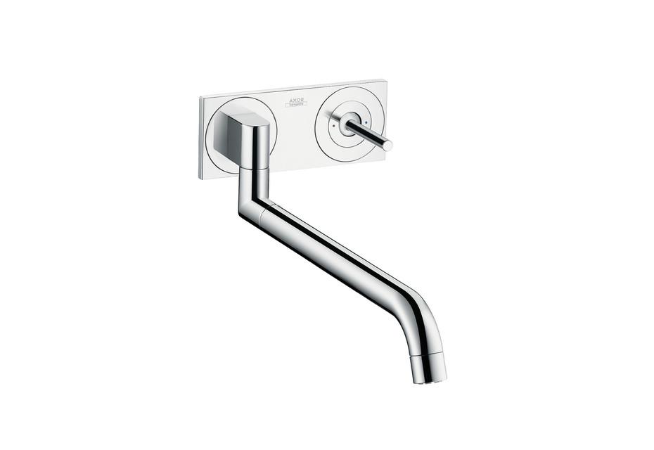 Axor Uno² Einhebel-Küchenmischer Unterputz für Wandmontage