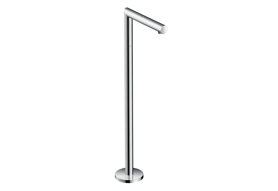 Axor Uno Bath Spout floor-standing, straight