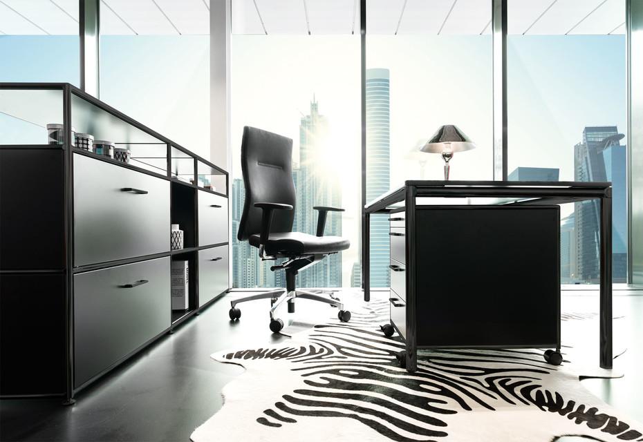 S-Desk MSS4-SCHW black edition