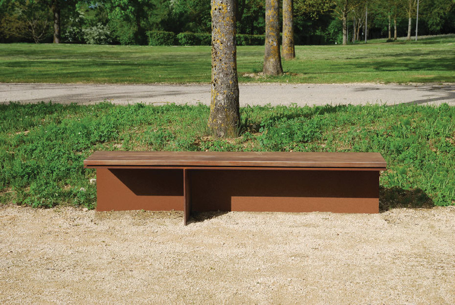 Monsieur bench without back rest