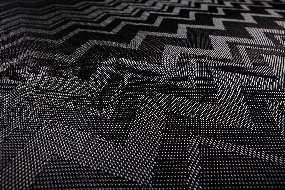 Bolon By Missoni Zigzag Black