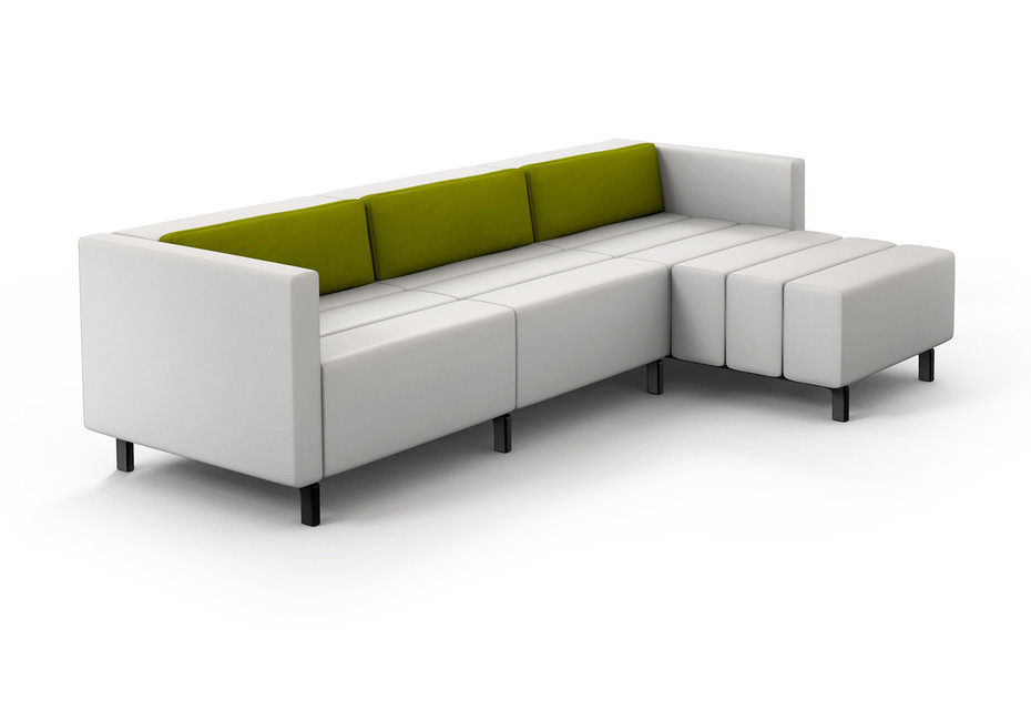 CL classic Sofa mit Liege