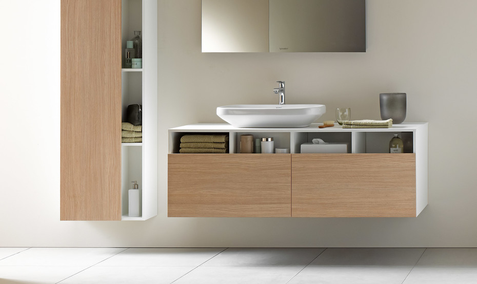 DuraStyle vanity unit wall-mounted 2 drawers