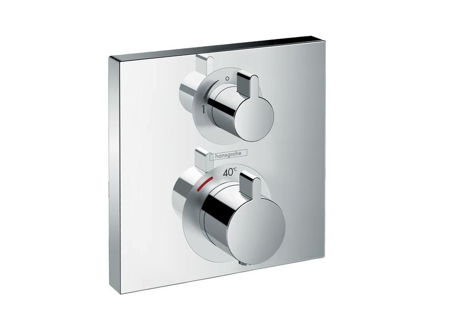 Ecostat Square Thermostat Unterputz für 1 Verbraucher