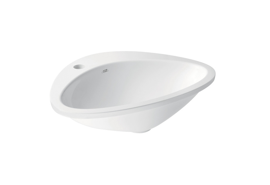 Axor Massaud Built-in wash basin with 1-boreholing