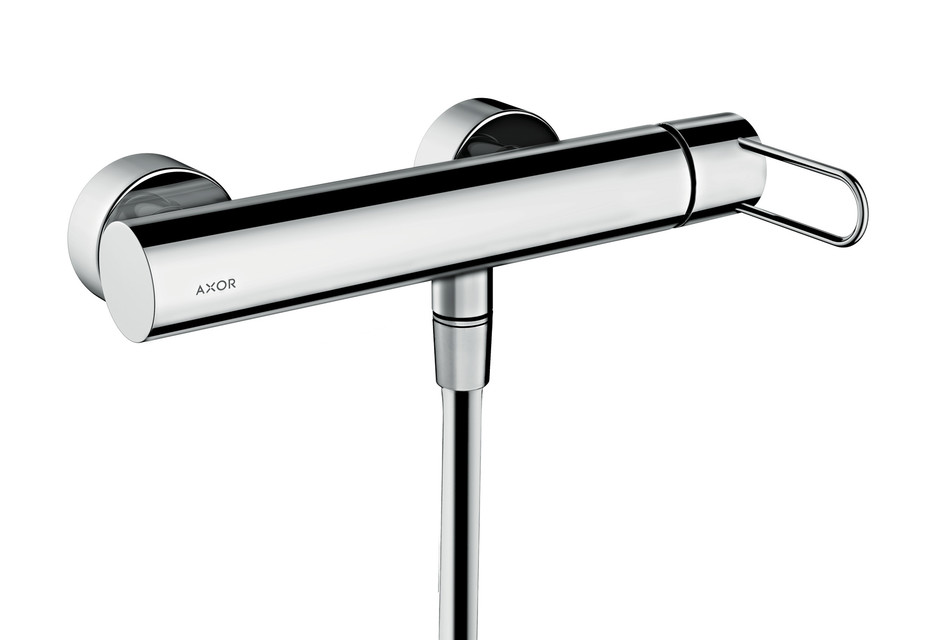Axor Uno Single lever shower mixer for exposed installation, loop handle