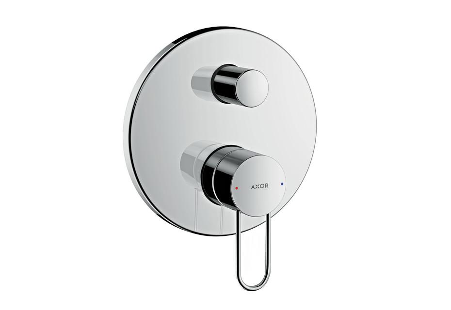 AXOR Uno Single lever bath mixer for concealed installation, loop handle